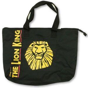 Disney Lion King Broadway Musical Black Tote Bag